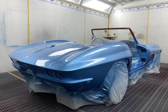 Peinture Corvette
